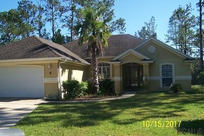 Seminole Woods Single Family Home For Sale: 4 Sea Swirl Place