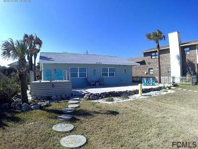 Flagler Beach Single Family Home For Sale: 2124 S S Ocean Shore Blvd
