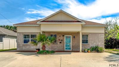 Flagler Beach Single Family Home For Sale: 319 N 3rd St