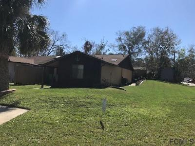 Flagler Beach Single Family Home For Sale: 192 N Oak Lane