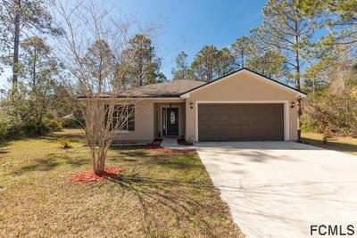 Seminole Woods Single Family Home For Sale: 15 Sleeping Beauty Place