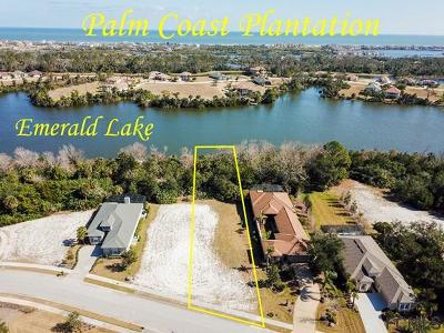 Palm Coast Plantation Residential Lots & Land For Sale: 46 Lakewalk Dr N