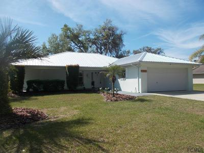 Flagler Beach Single Family Home For Sale: 1 Magnolia St