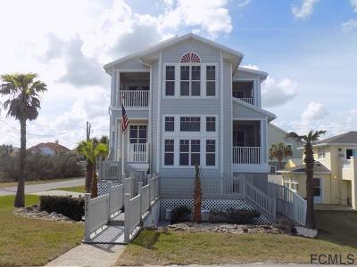 Flagler Beach Single Family Home For Sale: 1201 N Ocean Shore Blvd