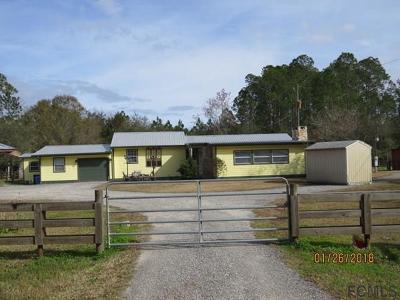Bunnell Single Family Home For Sale: 1351 Hazelnut Street
