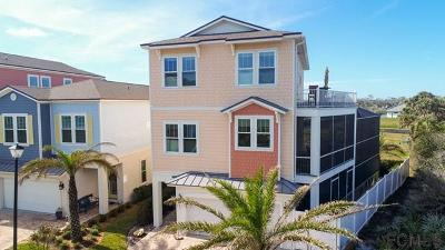 Flagler Beach Single Family Home For Sale: 2739 Sunset Inlet Dr