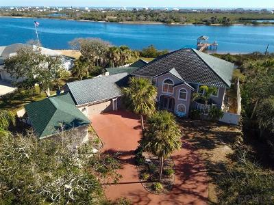 Flagler Beach FL Single Family Home For Sale: $1,250,000