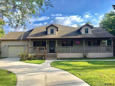 Bunnell Single Family Home For Sale: 503 Old Dixie Hwy S