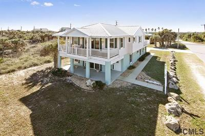 Flagler Beach Single Family Home For Sale: 2500 S Ocean Shore Blvd