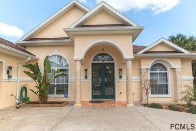 Palm Coast FL Single Family Home For Sale: $419,000