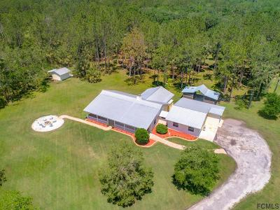 Bunnell Single Family Home For Sale: 7260 Cr 304