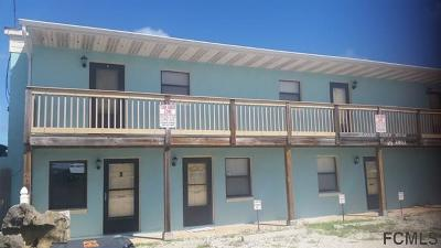Flagler Beach Condo/Townhouse For Sale: 2811 S Ocean Shore Blvd #5