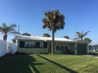 Ormond By The Sea Single Family Home For Sale: 6 Seabreeze Dr