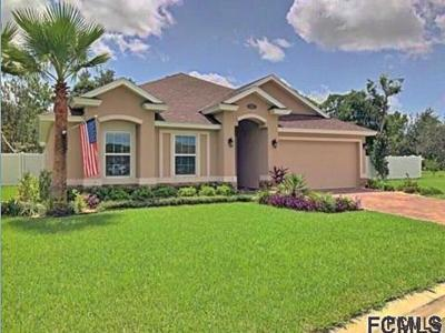 Palm Coast FL Single Family Home For Sale: $274,900