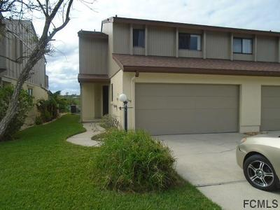 Flagler Beach FL Condo/Townhouse For Sale: $259,900