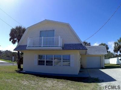 Flagler Beach Single Family Home For Sale: 3118 N Ocean Shore Blvd