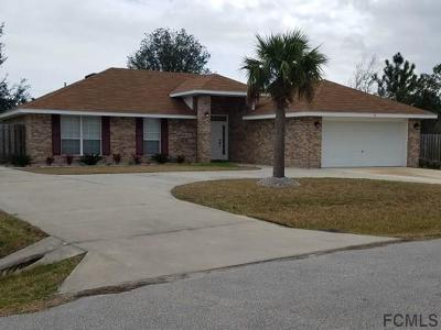 Palm Coast FL Single Family Home For Sale: $214,000