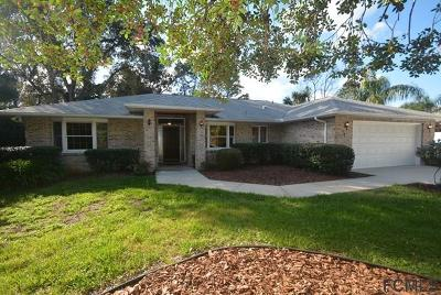 Palm Coast FL Single Family Home For Sale: $194,900