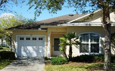 Palm Coast Condo/Townhouse For Sale: 47 Summerwind Circle #47