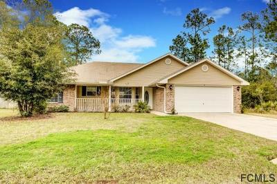 Palm Coast Single Family Home For Sale: 4 Reindeer Lane