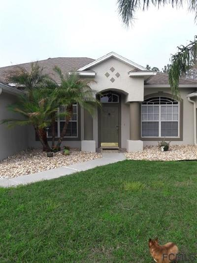 Palm Coast FL Single Family Home For Sale: $369,000