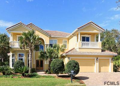 Palm Coast FL Single Family Home For Sale: $895,000