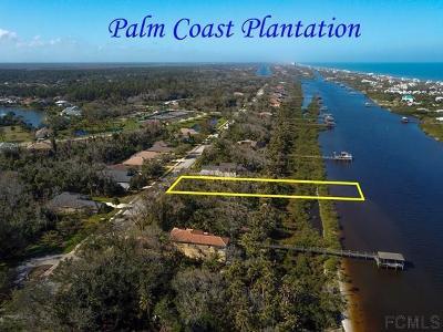 Palm Coast Plantation Residential Lots & Land For Sale: 39 Riverwalk Dr S