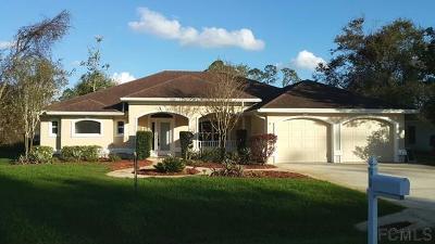 Palm Coast Single Family Home For Sale: 16 Pepper Lane