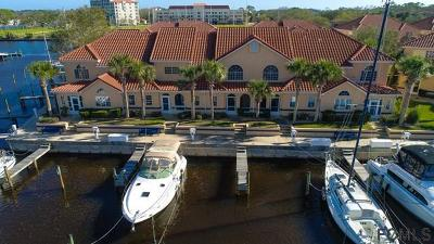 Palm Coast Condo/Townhouse For Sale: 14 Marina Point Place #14