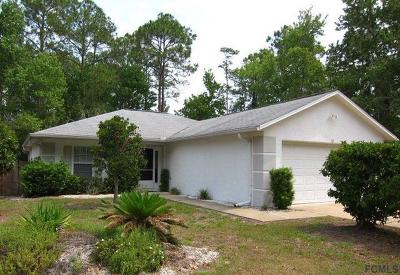 Palm Coast FL Single Family Home For Sale: $159,900