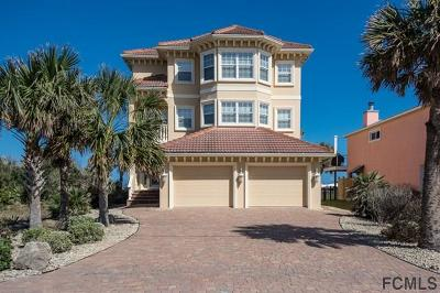 Flagler Beach Single Family Home For Sale: 1316 N Ocean Shore Blvd