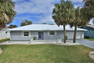 Flagler Beach Single Family Home For Sale: 273 Ocean Palm Drive