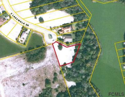Palm Coast Plantation Residential Lots & Land For Sale: 19 S Lakewalk Dr S