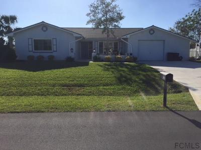 Palm Coast Single Family Home For Sale: 19 N Clarendon Ct N