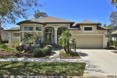 Palm Coast Single Family Home For Sale: 55 River Trail Drive