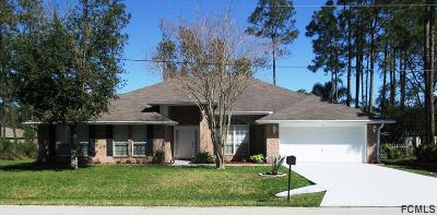 Palm Coast Single Family Home For Sale: 6 Richfield Pl