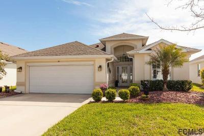 Palm Coast Single Family Home For Sale: 99 Raintree Cir