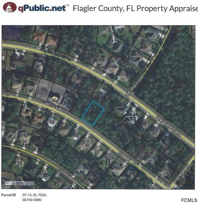 Palm Coast, Flagler Beach Residential Lots & Land For Sale: 55 Pitt Lane