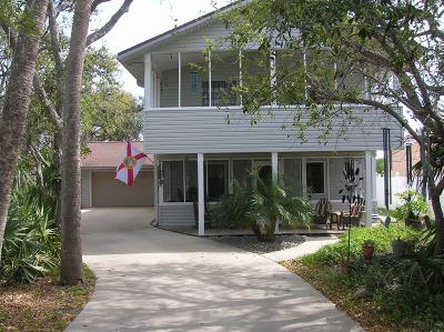 Flagler Beach Single Family Home For Sale: 2317 Flagler Ave S