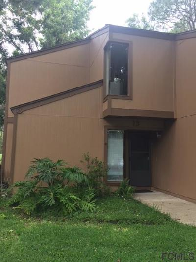 Palm Coast FL Condo/Townhouse For Sale: $164,900