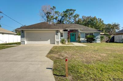 Flagler County Single Family Home For Sale: 35 Panei Lane