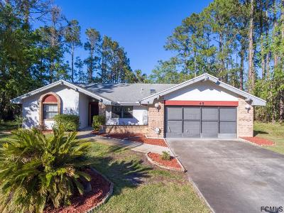 Flagler County Single Family Home For Sale: 45 Wynnfield Drive