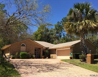 Palm Coast FL Single Family Home For Sale: $229,000