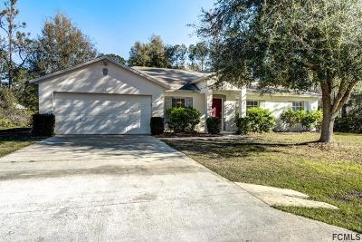 Palm Coast Single Family Home For Sale: 7 Slumberland Path