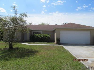 Palm Coast Single Family Home For Sale: 4 Radford Lane
