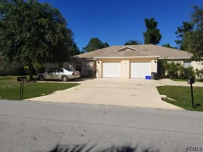 Palm Coast FL Multi Family Home For Sale: $247,000