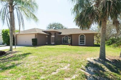 Palm Coast Single Family Home For Sale: 42 Cottonwood Trail