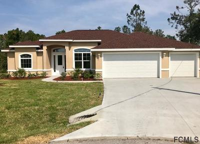 Palm Coast Single Family Home For Sale: 4 West Rose Pl