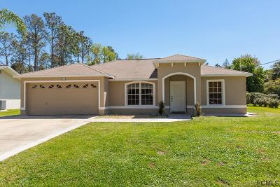 Palm Coast Single Family Home For Sale: 21 Palermo Lane