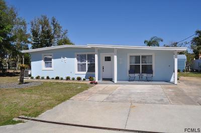Flagler Beach FL Single Family Home For Sale: $375,000